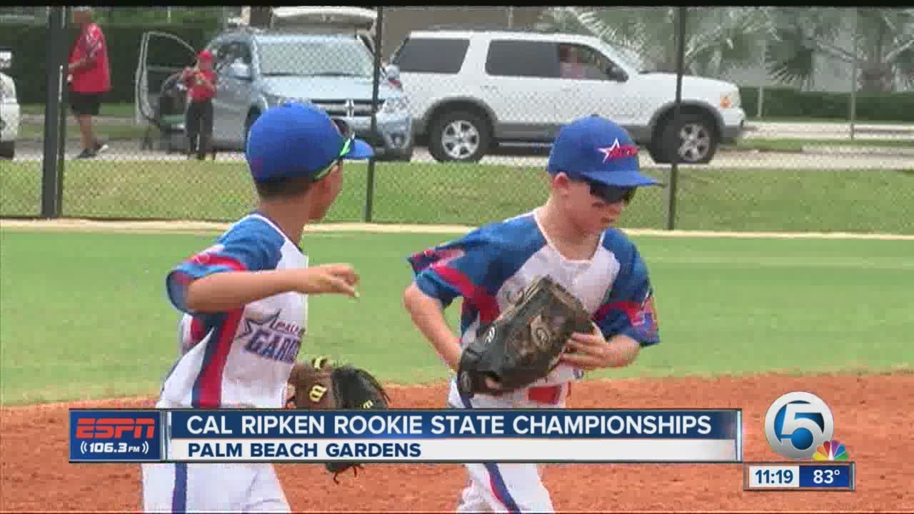 Cal Ripken Rookie State Championships - YouTube