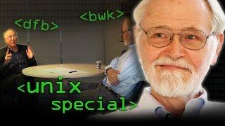 UNIX Special: Profs Kernighan & Brailsford - Computerphile