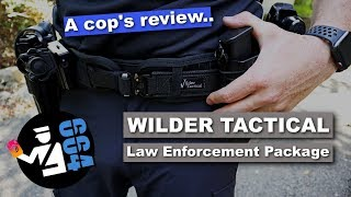 Wilder Tactical | Law Enforcement Package and Minimalist Belt - a COP's Review
