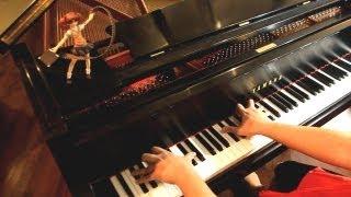 Gatchaman Crowds OP - Crowds (piano)