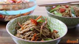 Salad Recipe - How to Make Sesame Noodle Salad