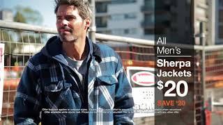 MEN'S SHERPA JACKETS TVC