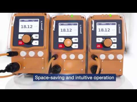 Metering Pump gamma  X  Maximum Efficiency