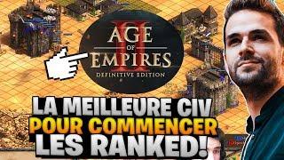 AoE 2 🔥 LA MEILLEURE CIVILISATION POUR COMMENCER LES RANKED ! (Age of Empire 2 Définitive Edition)