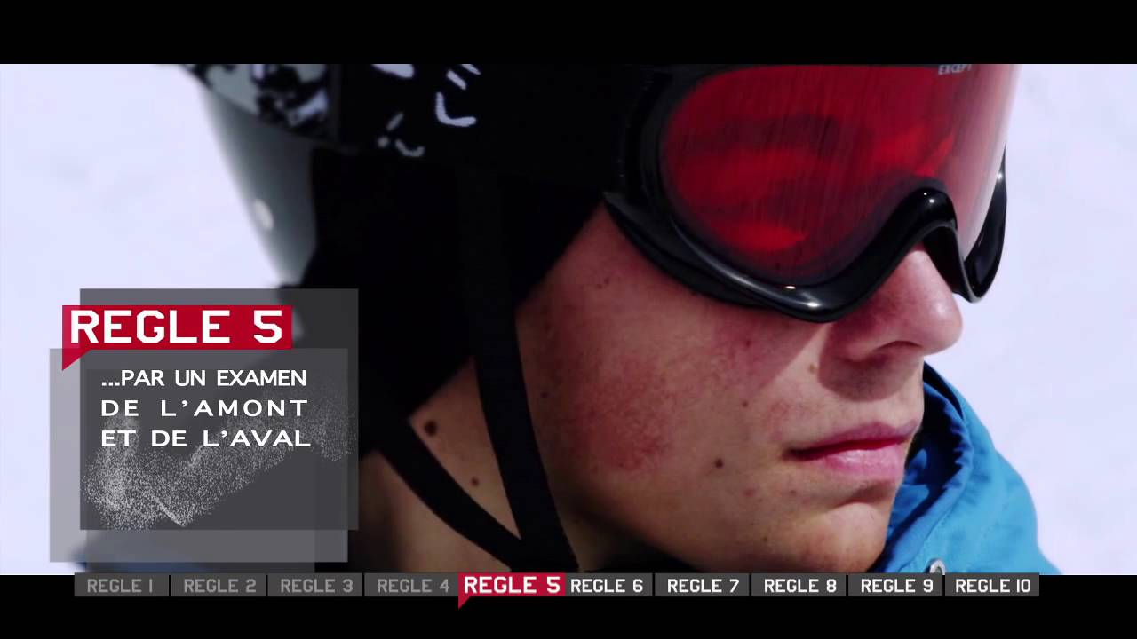 Film ESF sur la sécurité - 10 règles FIS