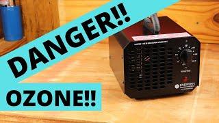 Dangers of an Ozone Generator