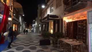 Курортный городок Кашкайш ночью. Португалия(Прогулка по престижному курортному побережью Португалии - Кашкайш ночью. Мое путешествие по Португалии..., 2013-06-14T16:01:59.000Z)