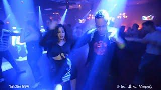EDWIN ALVAREZ & FABIOLA Salsa Social Dance At THE SALS ROOM