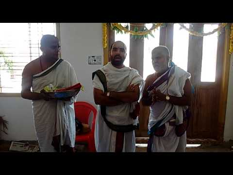 Srinivasa Gadyam at Bengaluru Grihapravesam