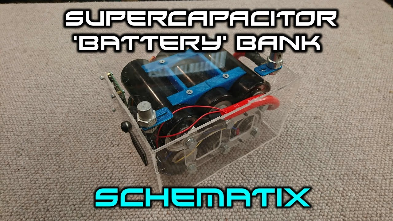 Super Capacitor  U0026 39 Battery U0026 39  Bank Construction Video