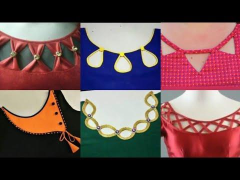 Gale design ke suit ladies Neckline Fashion