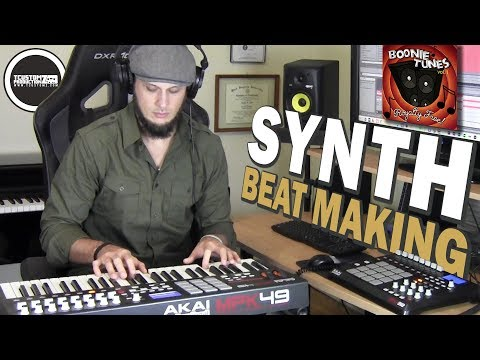 Making a Synth Beat Sampling Boonie Tunes Vol. 1