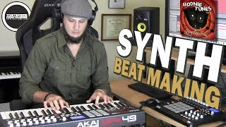 """Making a Synth Beat Sampling Boonie Tunes Vol. 1 """"Feel the Synth"""" (prod. by TCustomz)"""