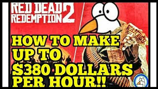 HOW To MAKE UP TO $380 DOLLARS PER HOUR!! Money Glitch Red Dead Redemption 2 Online