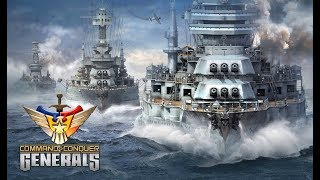 Command and Conquer: Generals | Bataille Navale | Warships Attack