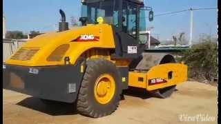 Дорожный каток XCMG XS182J | АТК(Дорожный каток XCMG XS182J Мощность: 115 кВт Масса: 18000 кг. Режим вибрации: одновальцовый Вес 18тонн Механический..., 2015-03-26T05:58:17.000Z)