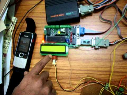 Using GSM Modem to send SMS of data received from Gas Sensors