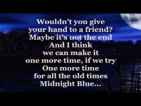 MIDNIGHT BLUE (Lyrics) - MELISSA MANCHESTER