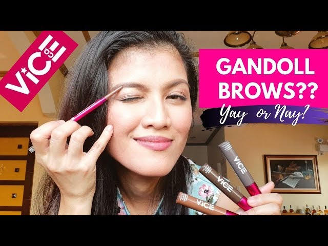 Gandoll Brows by Vice Cosmetics - Event + Review + Giveaway!