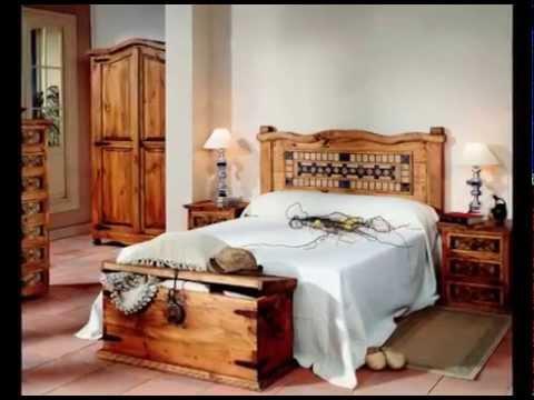 Dormitorios de matrimonio de estilo rustico youtube - Habitaciones juveniles con estilo ...
