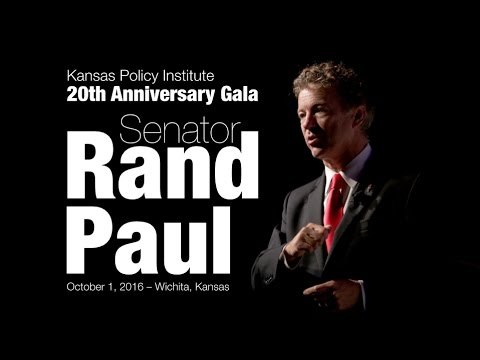 Rand Paul at KPI's 20th Anniversary Gala