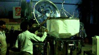 Centrifuge Machine Bag Lifting Type with Hydraulic lifting Device