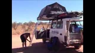 Dachzelte auf einem 4WD aufbauen