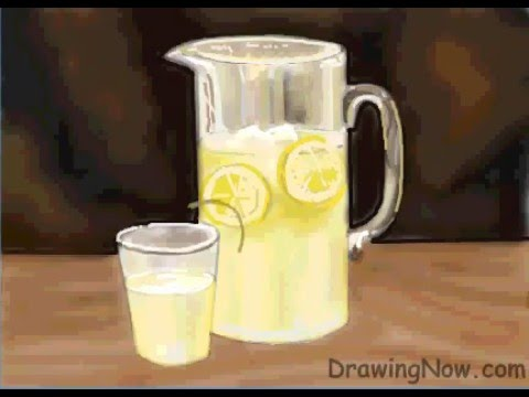 how to draw lemonade step by step