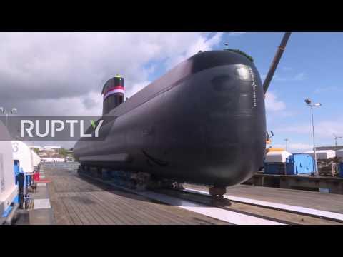 Germany: All-new submarine made for Egyptian navy christened in Kiel