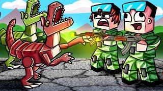 Динозавры Напали На Нуба и Про в Майнкрафт ! Майнкрафт Мультик Сериал Видео Для Детей