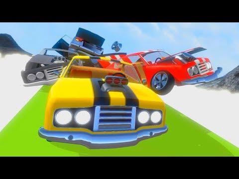 Crash Wheels - Крутые гонки с препятствиями на ПК