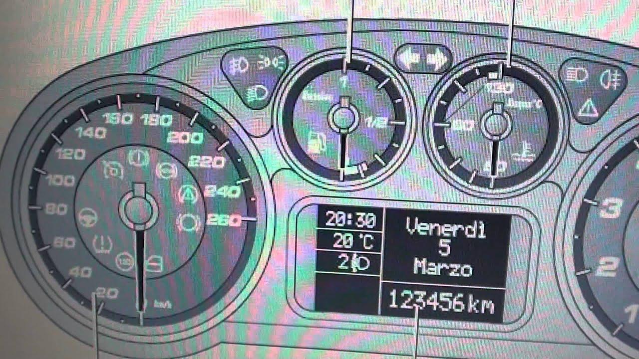 Alfa Romeo Dashboard Warning Lights Symbols Diagnostic Code