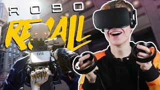 AWESOME NEW LOCOMOTION MOD! | Robo Recall VR (Oculus Touch Gameplay)