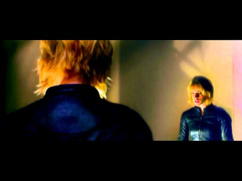 Anderson (Olivia Thirlby) uses her mutant powers on Dredd (HD)