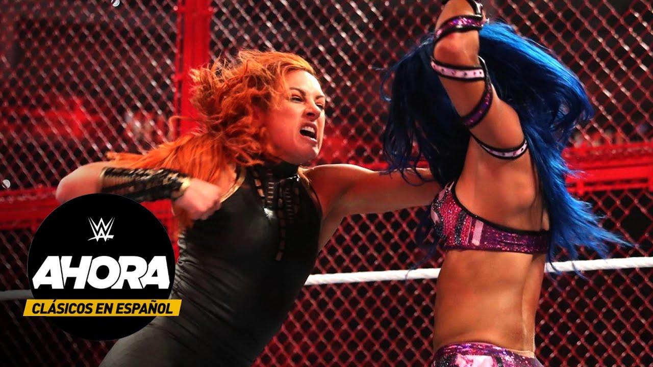 Clásicos en Español: Becky Lynch vs Sasha Banks – WWE Hell in a Cell 2019