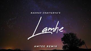 Lamhe | Raghav Chaitanya | Amtee | Remix | Lyrics Video