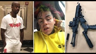 6ix9ine Will Testify in Court that He Put a $50,000 hit on the Head of The 2 men who Kidnapped him!