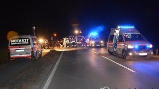 schwerer Verkehrsunfall auf der B170 in Kirchberg/Tirol