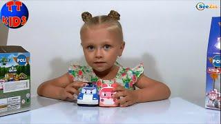 ✔ Робокар Поли Девочка Сюрприз распаковка Игрушки RoboCar Poli Surprise Unboxing toys Серия 19 ✔