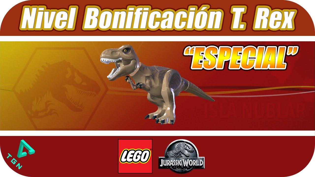 LEGO Jurassic World - Especial - Zona de Bonificación T. Rex - 1080p ...