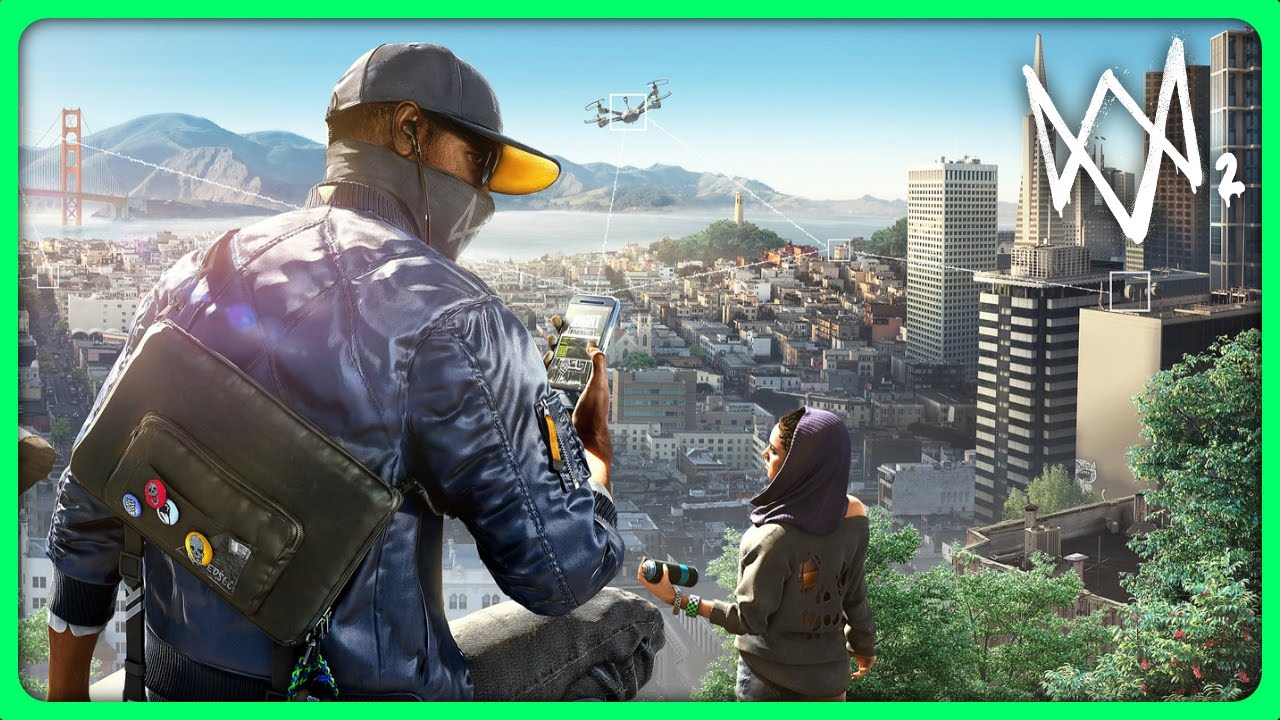 Watch dogs 2 gameplay free roam hacking