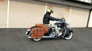インディアンモーターサイクル!2014チーフヴィンテージ発進!