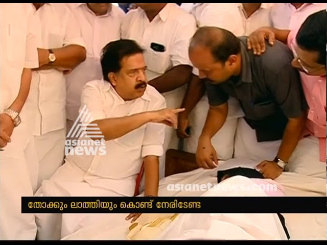 Ramesh Chennithala supports the protesters of Malappuram highway development
