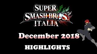 Super Smash Bros. Italia Highlights - December 2018
