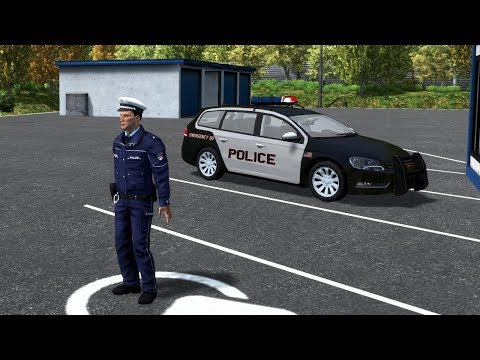 Autobahn Police Simulator - American Police Cars in Germany??