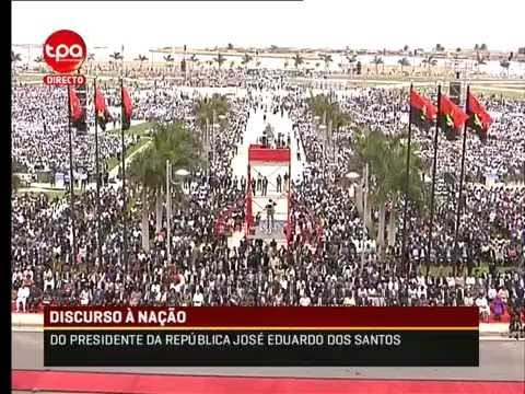 Empossamento, president of Angola Mr. José Eduardo dos Santos 26-09-2012 (In Portuguese)