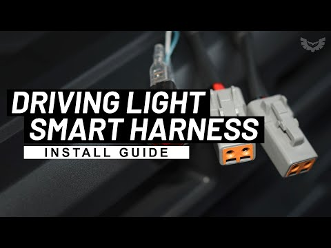 How To Wire LED Light Bar Or Driving Lights To High Beam STEDI Smart Harness