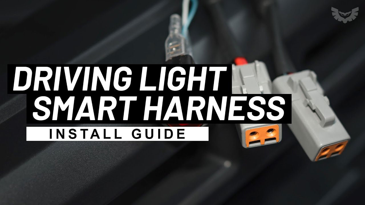How to wire LED light Bar or Driving Lights to High Beam STEDI Smart  Harness - YouTube | Spotlight Wiring Diagram Bt50 |  | YouTube