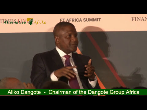 Aliko Dangote  - A Leader's view at the FT Africa Summit 2017