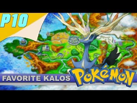10 Personal Favorite Kalos 6th Gen Pokemon
